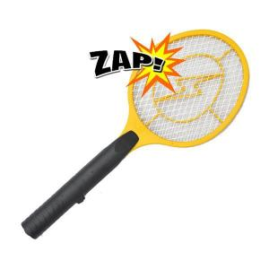 Electronic-Bug-Zapper-Mosquito-Insect-Electric-Fly-Swatter-Outdoor-Wasp-Racket-Yellow